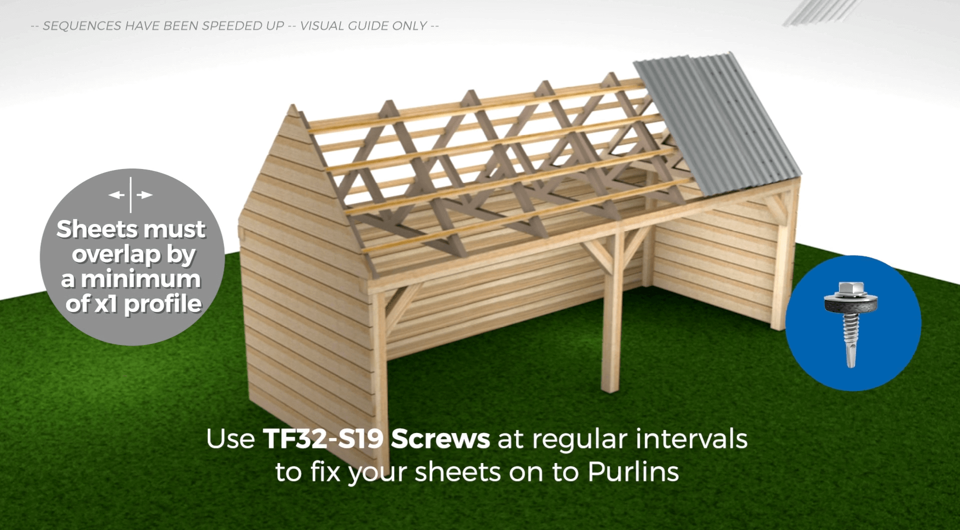Lay Sheets Need Help Installing How To Lay Corrugated Roof Sheets