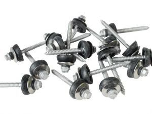 65mm screws to wood with BAZ washer (Pack of 100)