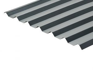 34/1000 Box Profile 0.5 Thick Galvanised Roof Sheet