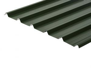 32/1000 Box Profile 0.5 Thick PVC Plastisol Coated Roof Sheet