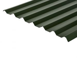 34/1000 Box Profile 0.5 Thick PVC Plastisol Coated Roof Sheet