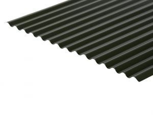13/3 Corrugated 0.5 Thick Polyester Paint Coated Roof Sheet