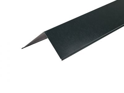 90º Corner Barge Flashings in PVC Plastisol finish - 3m 200mm x 200mm
