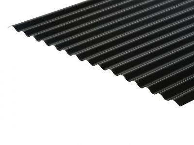 13/3 Corrugated 0.7 Thick PVC Plastisol Coated Roof Sheet