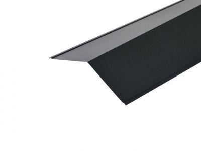 Ridge Flashing in Black Prelaq Mica - 200 X 200mm