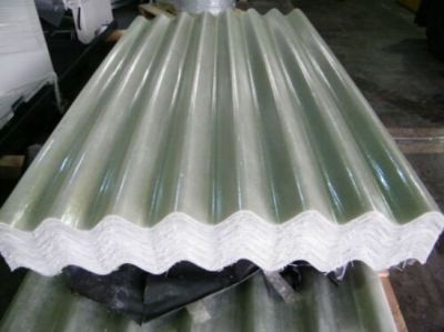 CLEARANCE GRP 10ft Translucent Big 6 Fibre Cement Profile Roofing Sheets