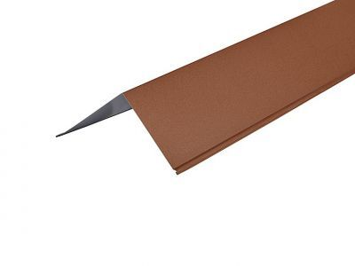 Barge Flashing in Copper Brown Prelaq Mica - 150 x 150mm