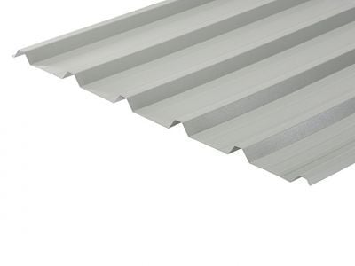 32/1000 Box Profile 0.7 Thick Goosewing Grey PVC Plastisol Coated Roof Sheet