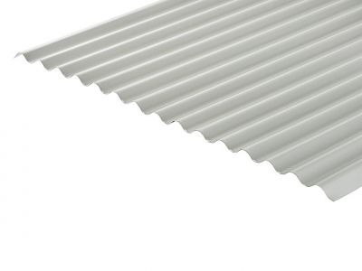 13/3 Corrugated 0.7 Thick Goosewing Grey PVC Plastisol Coated Roof Sheet