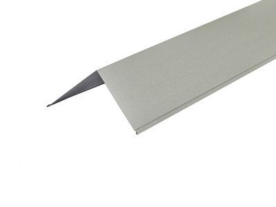 Barge Flashings 3m  200 x 200mm in Goosewing Grey - PVC Plastisol finish