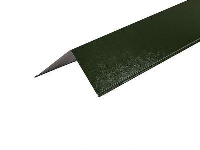 Barge Flashings 3m  200 x 200mm in Juniper Green - PVC Plastisol finish
