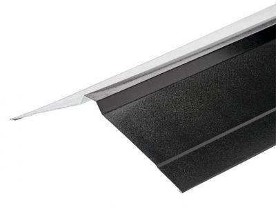 Nordic Ridge in Black PVC Plastisol Finish in 3m 195 x 195mm