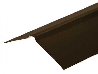 Nordic Ridge in Vandyke brown PVC Plastisol Finish in 3m 195 x 195mm