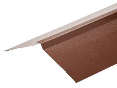 Nordic Ridge in Chestnut PVC Plastisol Finish in 3m 195 x 195mm