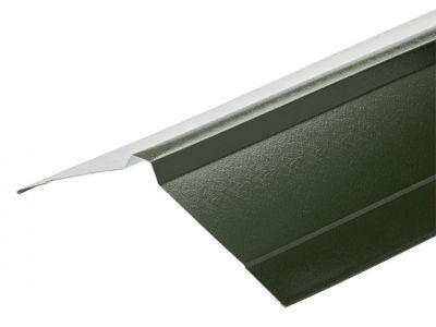 Nordic Ridge in Juniper Green PVC Plastisol Finish in 3m 195 x 195mm