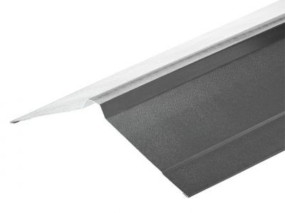 Nordic Ridge in Merlin Grey PVC Plastisol Finish in 3m 195 x 195mm