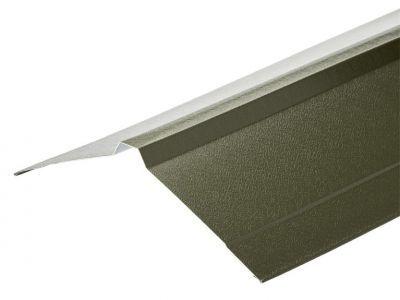 Nordic Ridge in Olive Green PVC Plastisol Finish in 3m 195 x 195mm