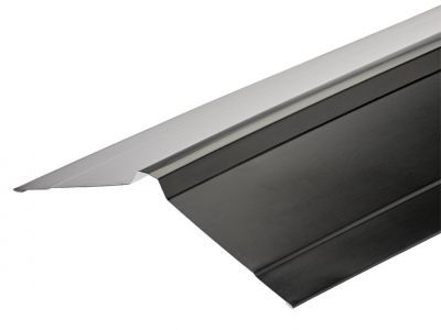 Nordic Ridge Flashings in Polyester Paint Finish - 3m 195 x 195mm