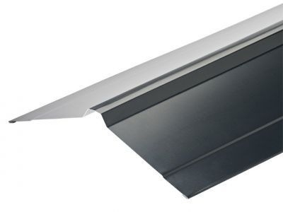 Nordic Ridge Flashings in Slate Blue Polyester Paint  Finish in 3m 195 x 195mm