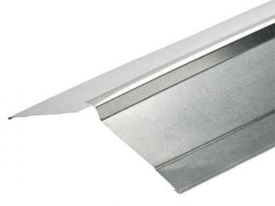 Nordic Ridge Flashings in Galvanised Finish in 3m 195 x 195mm