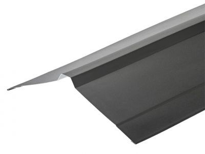 Nordic Ridge Flashings in Prelaq Mica Finish in 3m 195 x 195mm