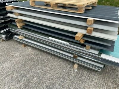 CLEARANCE - 8ft/2.4m Yardstock Box Profile Sheet. 0.5mm or 0.7mm