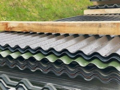CLEARANCE - 10ft/3m Yardstock 13/3 Corrugated Sheet. 0.5mm or 0.7mm