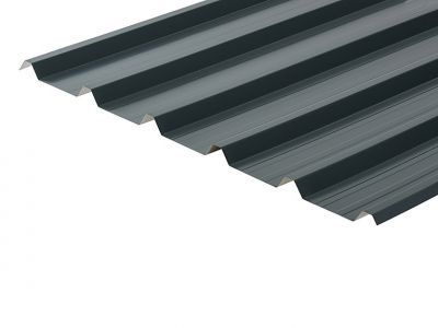 32/1000 Box Profile 0.5 Thick Slate Blue Polyester Paint Coated Roof Sheet