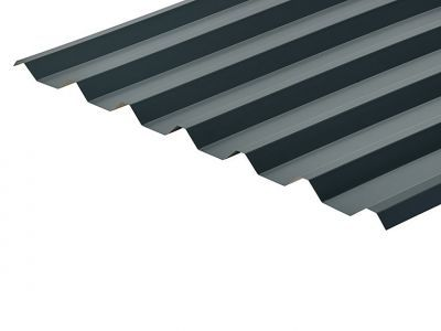 34/1000 Box Profile 0.5 Thick Slate Blue Polyester Paint Coated Roof Sheet