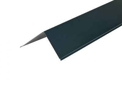Corner Barge Flashings in Slate Blue Polyester Paint Finish - 3m 200 x 200mm
