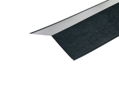 Ridge Flashings in Slate Blue PVC Plastisol Finish in 3m 200 x 200mm