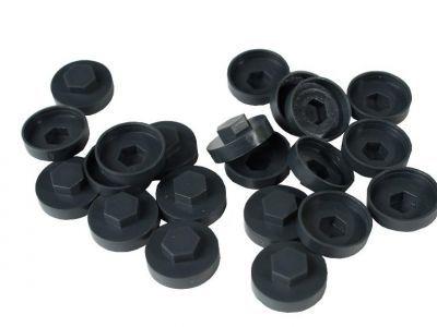 HC19 19mm colour caps Graphite Grey (Pack of 100)