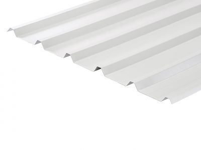 32/1000 Box Profile 0.5 Thick White Polyester Paint Coated Roof Sheet