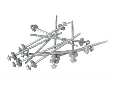 125mm screws  for heavy steel with a 19mm bonded washer (Pack of 100)