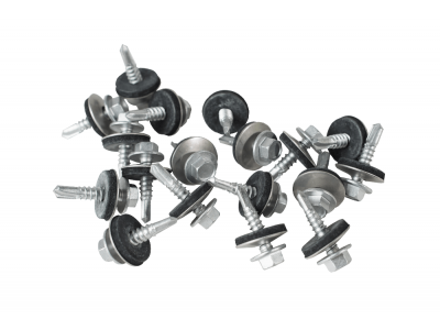 25mm screws for light steel with a 19mm bonded washer (Pack of 100)