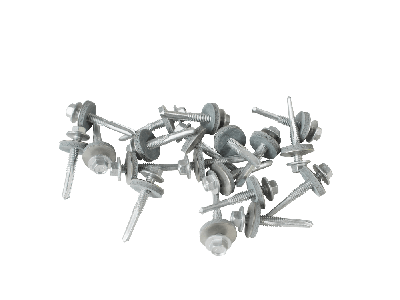 38mm screws  for heavy steel with a 19mm bonded washer (Pack of 100)