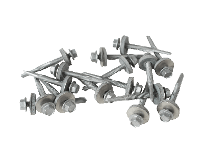 55mm screws  for heavy steel with a 19mm bonded washer (Pack of 100)