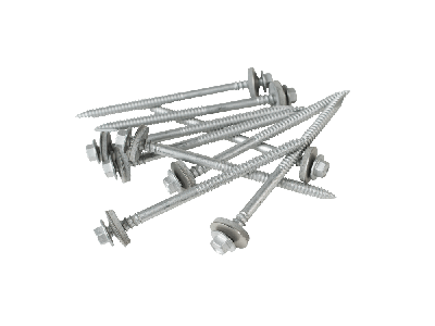 105mm screws to wood with a 19mm bonded washer (Pack of 100)