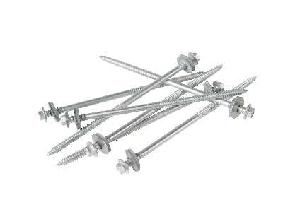 175mm screws to wood with a 19mm bonded washer (Pack of 100)