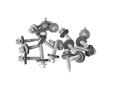 32mm screws to wood with a 19mm bonded washer (Pack of 100)