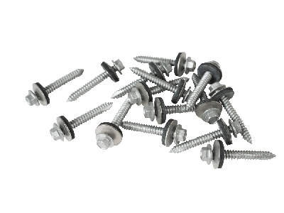 45mm screws to wood with a 19mm bonded washer (Pack of 100)