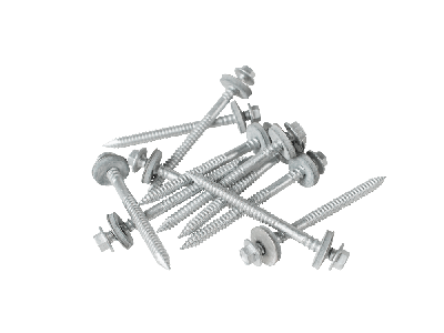 80mm screws to wood with a 19mm bonded washer (Pack of 100)