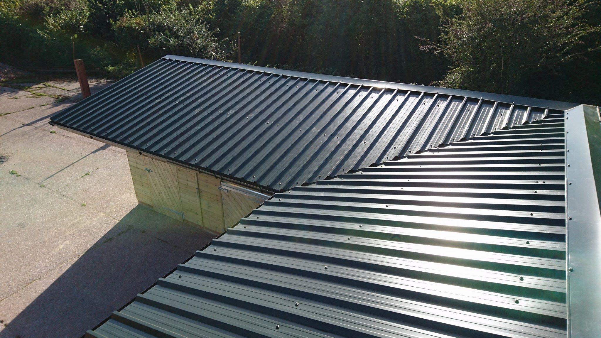 Juniper Green 32/1000 Roof Sheeting