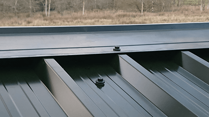 Nordic Ridge and Box Profile 32/1000 Roofing Sheets