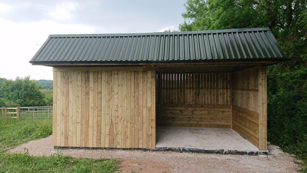 Juniper Green Box Profile 34/1000 PVC Roofing Sheets