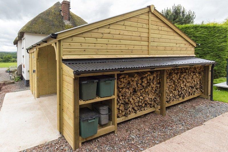 Storage and Garage unit using Cladco Corrugated PVC Sheeting