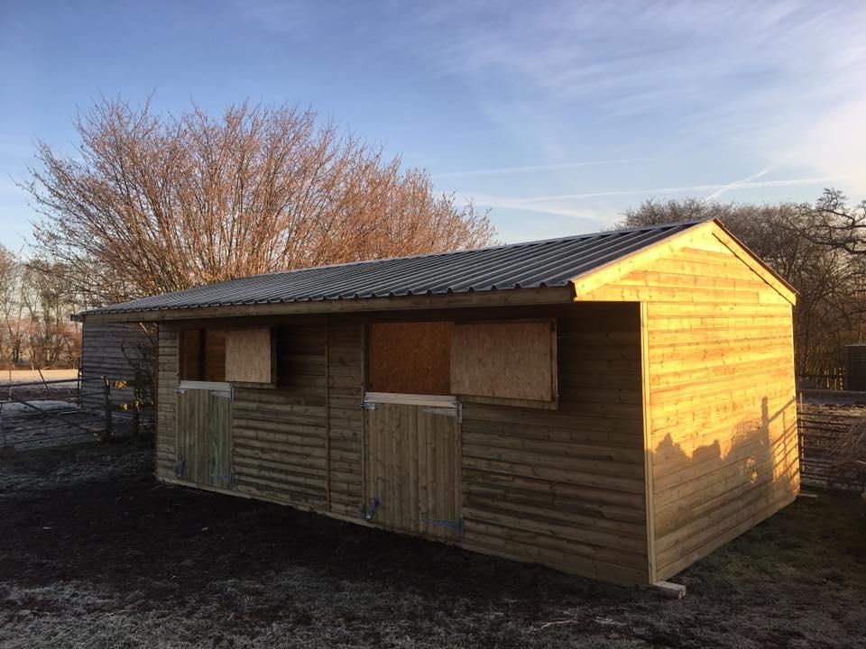 Devonshire Stables bespoke timber buildings in Winkleigh, Devon.