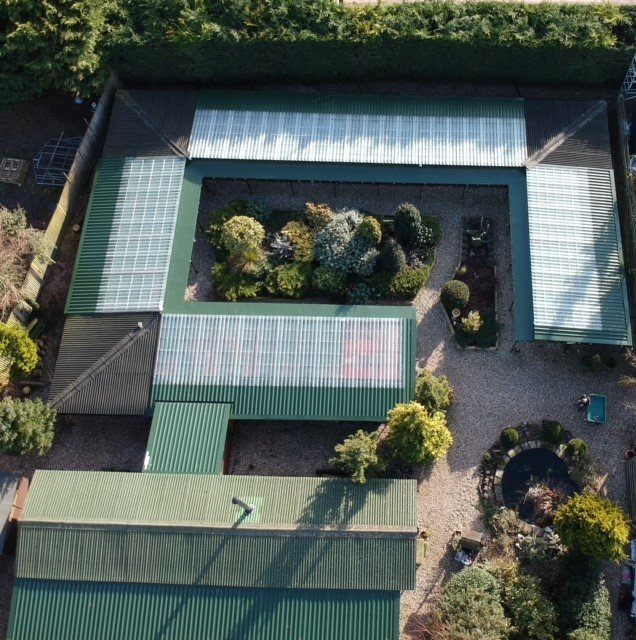 The Garden Mews Cat Hotel replaces Roof with Cladco Roof Sheets
