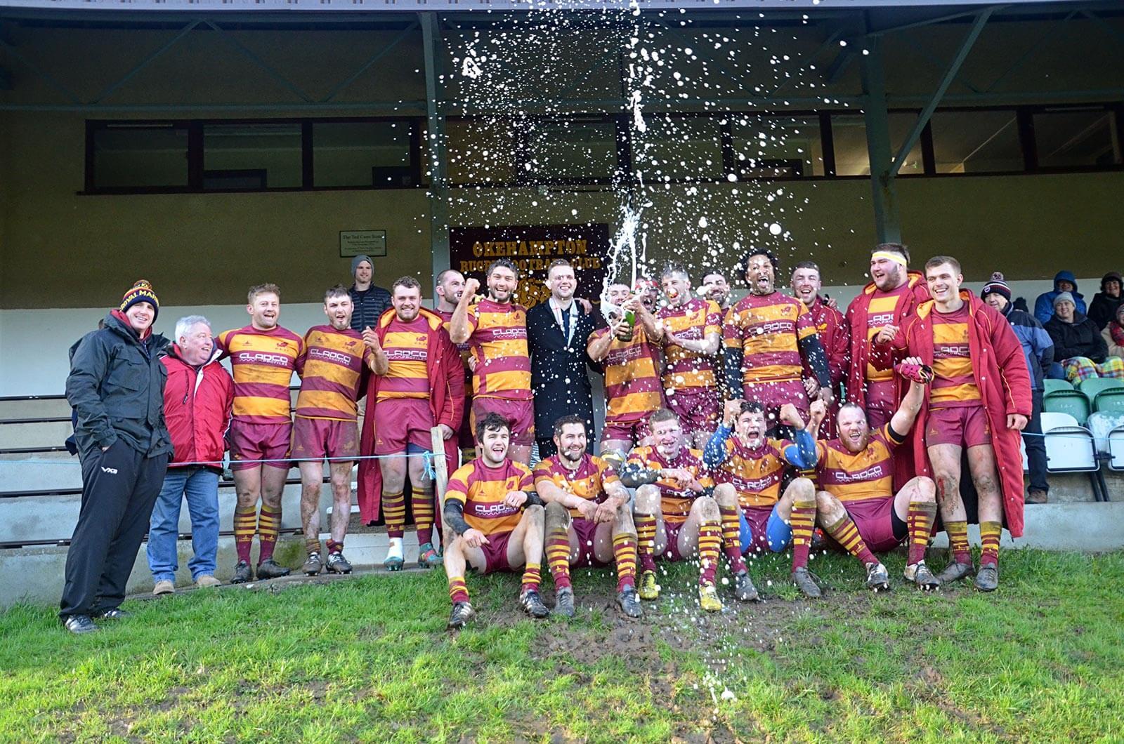 Cladco sponsors Okehampton Rugby Club