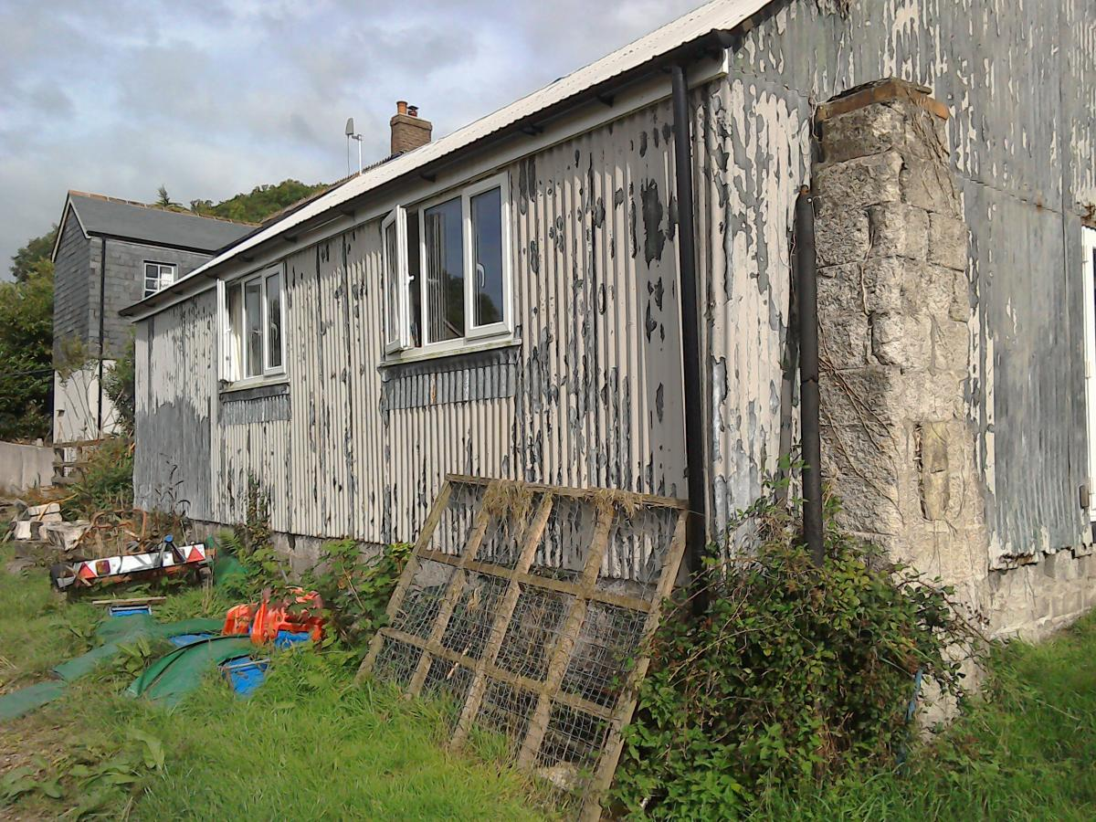 Before and after barn conversion using Cladco Tile Form Sheeting